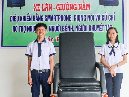 Nhóm học sinh TP Cần Thơ đoạt giải Đặc biệt