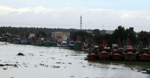 Nhiều tàu cá ở Kiên Giang nằm bờ