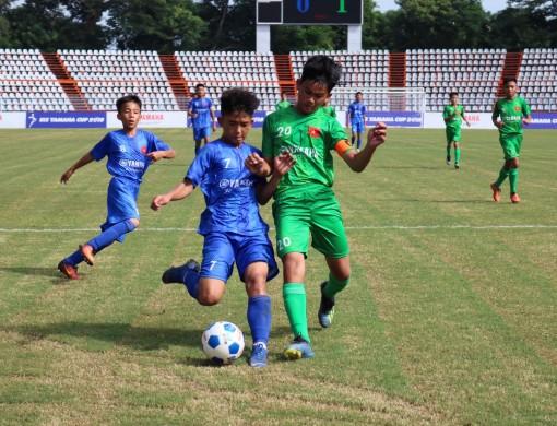 U13 Cần Thơ có trận thắng đầu tiên trong ngày khai mạc