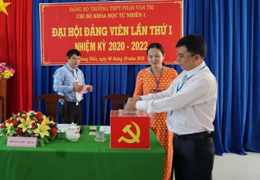 Chi bộ đầu tiên ở huyện Phong Điền tiến hành Đại hội nhiệm kỳ 2020-2022