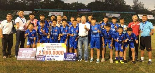 U13 Cần Thơ đoạt HCĐ, cầu thủ nhí Trần Hữu Lộc tỏa sáng