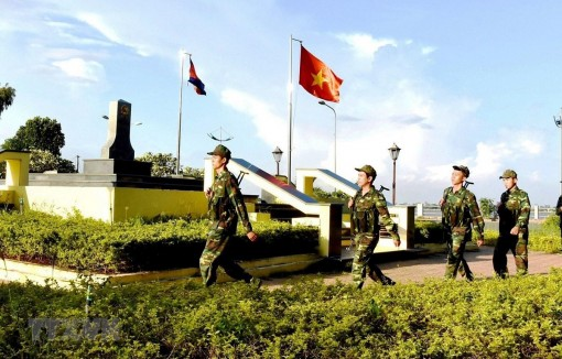 Vì đường biên giới Việt Nam-Campuchia hòa bình, hữu nghị, phát triển