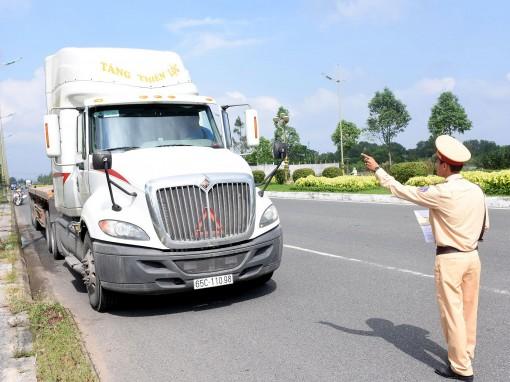 Xử lý nghiêm vi phạm  trật tự an toàn giao thông đường bộ