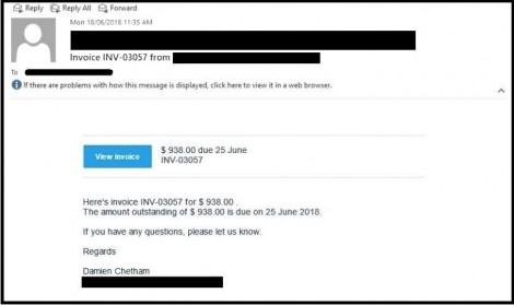 Cảnh giác trước chiến dịch lừa đảo email mới