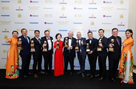 Dẫn đầu 9 hạng mục - Vinpearl đạt kỷ lục tại Giải thưởng Du lịch Thế giới châu Á và châu Đại Dương - WTA 2019