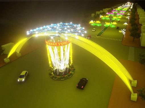 Ấn tượng với Đường đèn nghệ thuật Cần Thơ 2020