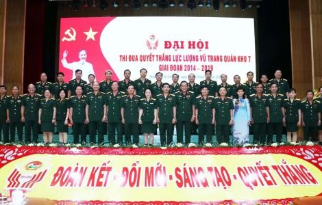 Đại hội Thi đua quyết thắng Lực lượng vũ trang Quân khu 7
