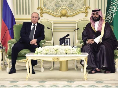 Vị thế đang lên của Nga  tại Trung Đông