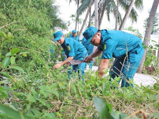 Lực lượng vũ trang quận Ô Môn  thi đua Quyết thắng