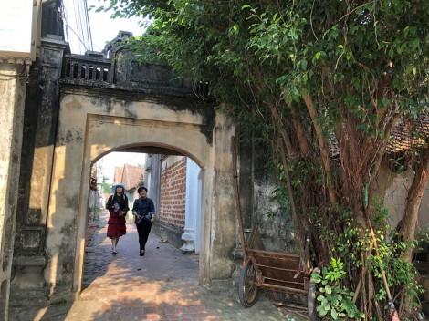 Dấu xưa làng cổ Đường Lâm