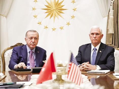 Thổ Nhĩ Kỳ ngừng tấn công Syria