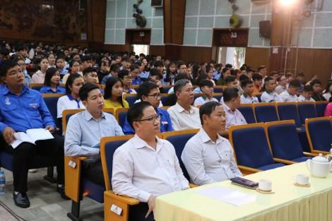 Tuyên truyền kết quả công tác quản lý biên giới đất liền Việt Nam - Campuchia cho hơn 600 cán bộ, sinh viên