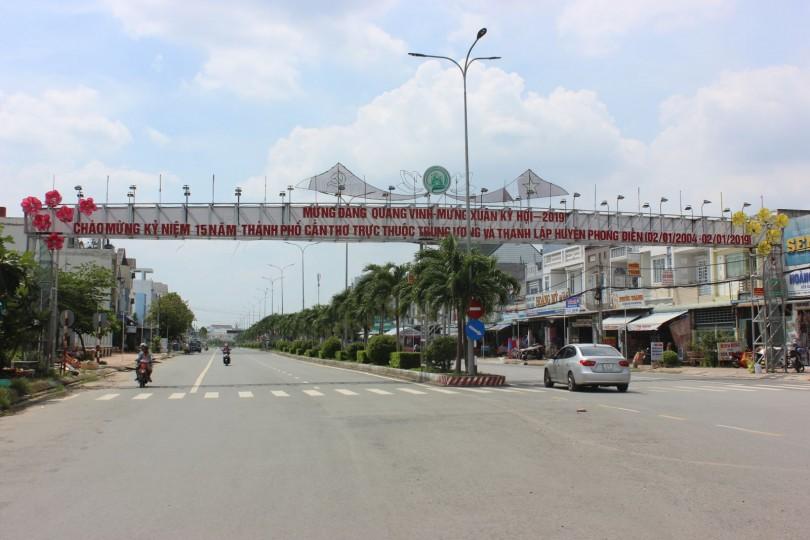 Phong Điền trên đường trở thành Đô thị sinh thái
