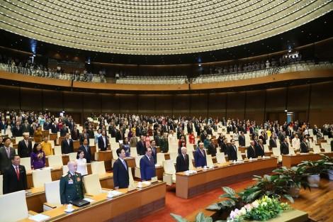 Toàn cảnh Khai mạc kỳ họp thứ 8, Quốc hội khóa XIV