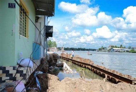 Thêm 2 đề án ứng phó với sụt lún đất tại ĐBSCL