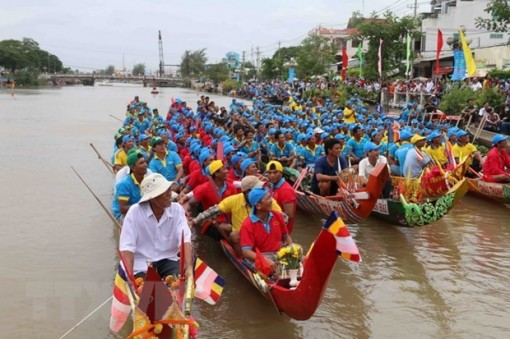 Ooc Om Bok festival promotes traditional values of Khmer people
