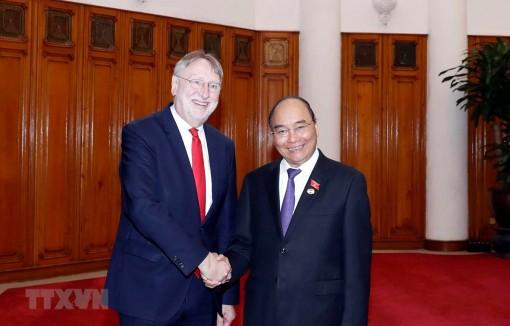 PM receives European Parliament's international trade chief