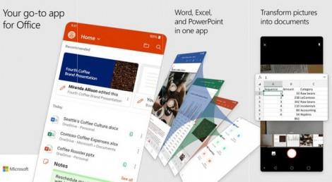 Microsoft Office hợp nhất thành một ứng dụng trên iOS và Android