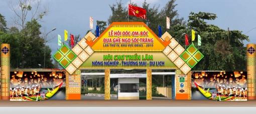 """Sóc Trăng tổ chức Hội chợ Triển lãm """"Nông nghiệp - Thương mại - Du lịch"""""""
