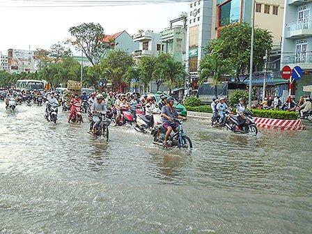 Tập huấn lập bản đồ nguy cơ ngập lụt đô thị sử dụng QGIS
