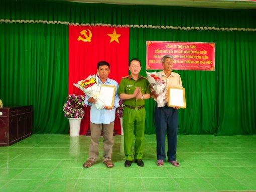 Công an quận Cái Răng công khai xin lỗi ông Nguyễn Văn Triều và đại diện gia đình ông Nguyễn Văn Tuân