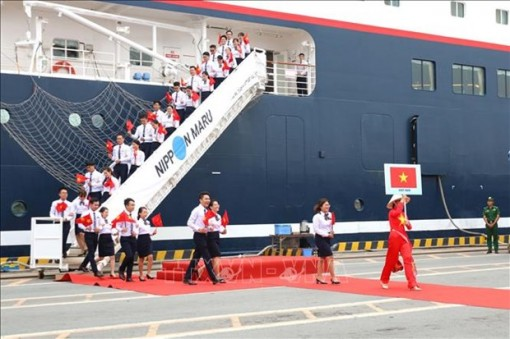 Ship for Southeast Asian Youth Programme arrives in Vietnam