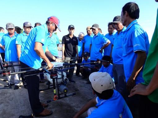 Triển vọng ứng dụng thiết bị bay trong sản xuất nông nghiệp