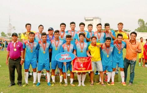 Cờ Đỏ giành ngôi cao nhất Giải vô địch Bóng đá TP Cần Thơ năm 2019