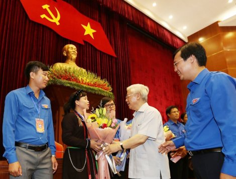 Tăng cường đoàn kết, tập hợp thanh niên, phát huy vai trò xung kích, sáng tạo, tình nguyện để xây dựng Tổ quốc Việt Nam giàu đẹp và văn minh