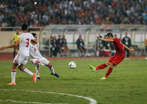 Vietnam beat UAE to top Group G in World Cup 2022 qualifiers