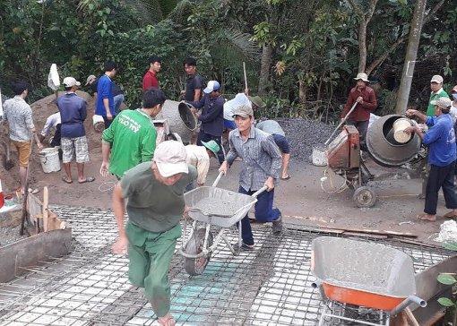 Tuổi trẻ quận Ô Môn đảm bảo  an toàn giao thông