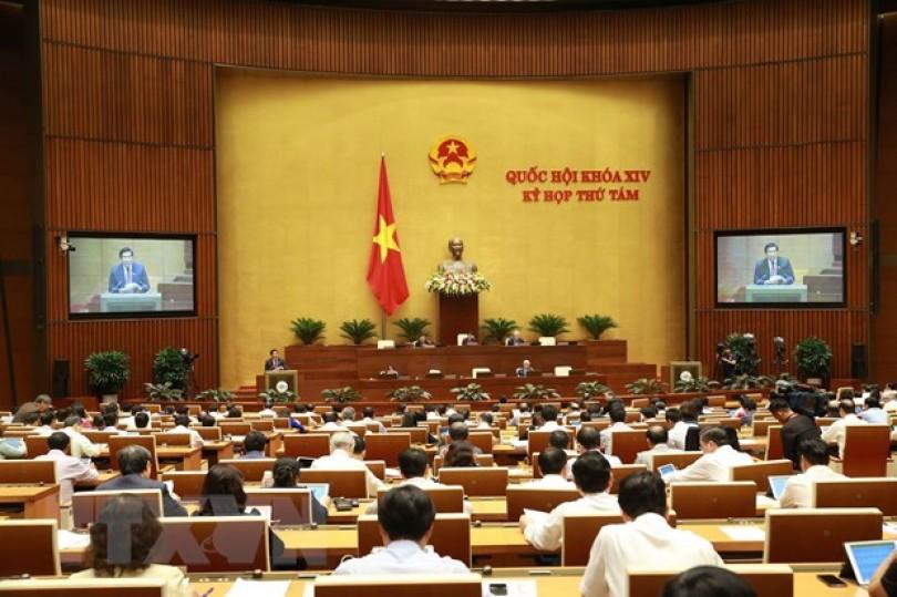 Kỳ họp thứ 8, Quốc hội khóa XIV: Cho ý kiến ba dự án Luật