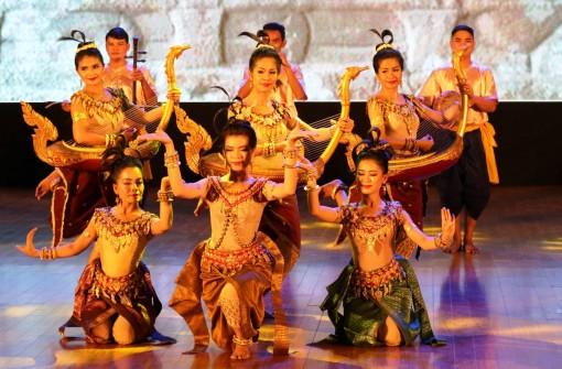 Đặc sắc chương trình biểu diễn nghệ thuật Campuchia