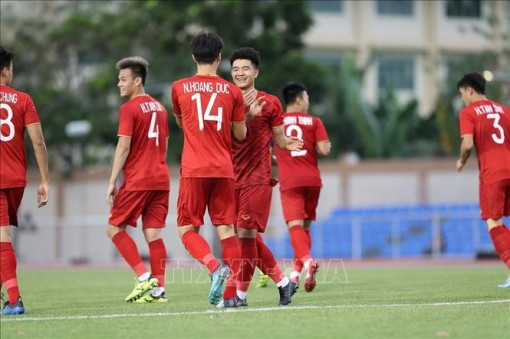 HLV Park Hang-seo lưu ý một số vấn đề ở U22 Việt Nam