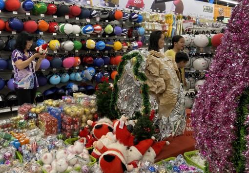 Khởi động thị trường mùa Giáng sinh