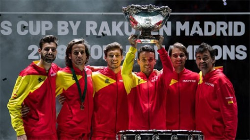 Tây Ban Nha vô địch Davis Cup lần thứ 6