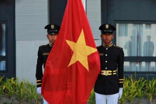 Quốc kỳ Việt Nam tung bay tại SEA Games 30