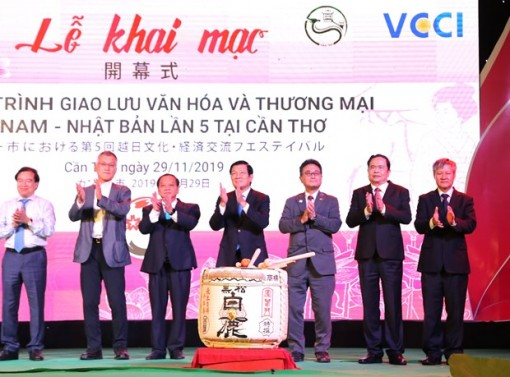 Can Tho hosts Vietnam-Japan culture, trade exchange