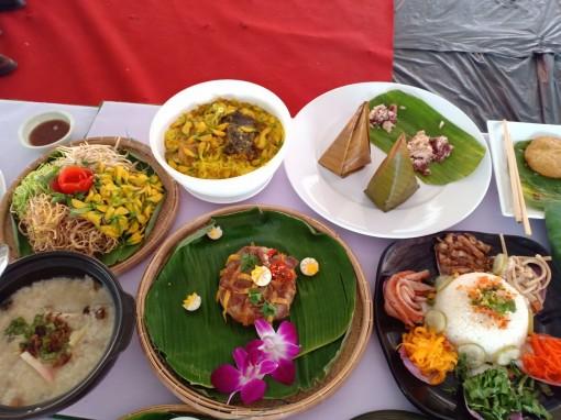 Xác lập kỷ lục 100 món ăn được chế biến từ gạo