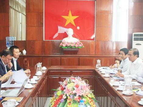 Lãnh đạo TP Cần Thơ làm việc với Đoàn công tác của JICA