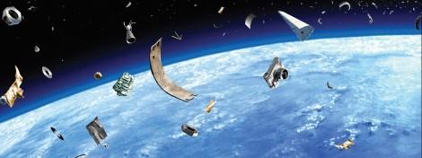 Châu Âu với bài toán xử lý rác vũ trụ