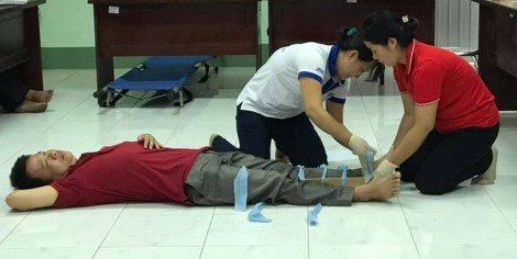 Huấn luyện kỹ năng sơ cấp cứu tai nạn