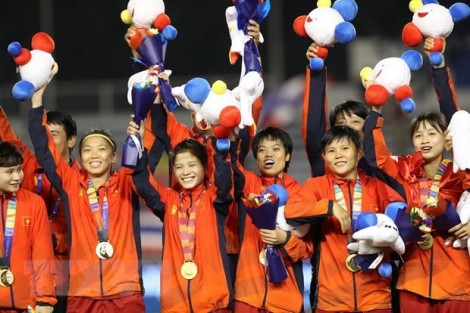 PM congratulates women's football team on SEA Games success