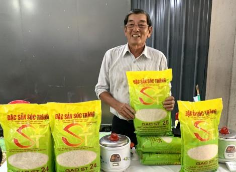 ST25 sôi động thị trường gạo Việt