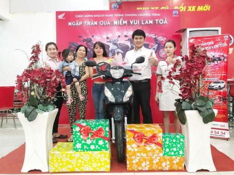 Mua xe Honda - Ngập tràn quà - Niềm vui lan tỏa