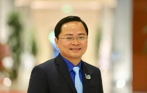 Anh Nguyễn Anh Tuấn giữ chức Chủ tịch Hội Liên hiệp Thanh niên