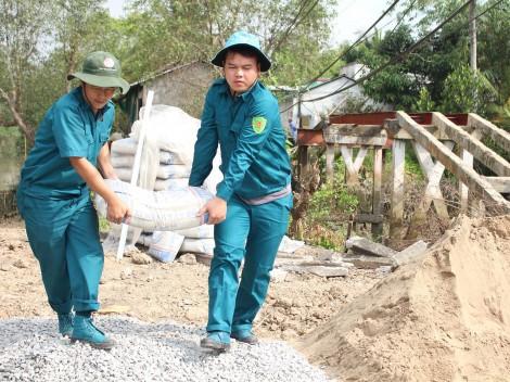 Quận Cái Răng tổ chức Tết Quân Dân  ở phường Phú Thứ