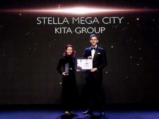 KITA Group và Stella Mega City nhận cú đúp giải thưởng bất động sản tốt nhất Đông Nam Á