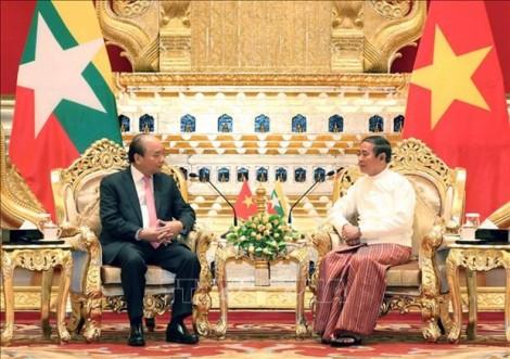 Vietnam, Myanmar issue joint statement