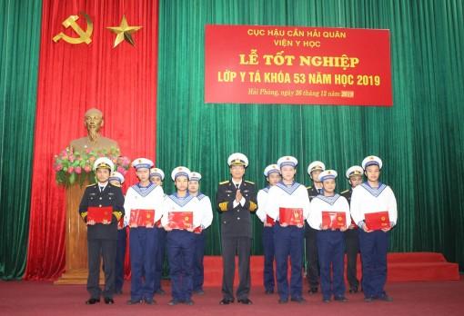 Viện Y học Hải quân tổ chức Lễ tốt nghiệp lớp Y tá Khóa 53